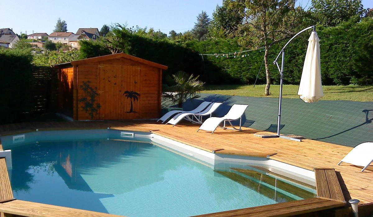 D co bassin terrasse bois asnieres sur seine 33 - Bassin moderne exterieur calais ...