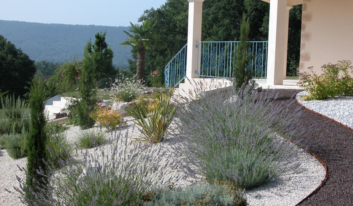 Stunning Allee De Jardin En Pouzzolane Contemporary - ansomone.us ...